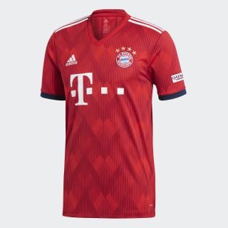 FC Bayern Home Jersey Fcb True Red / Strong Red / White CF5433