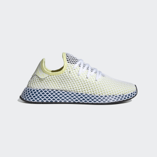 Кроссовки DEERUPT RUNNER Yellow Tint / Cloud White / Legend Marine EF5377