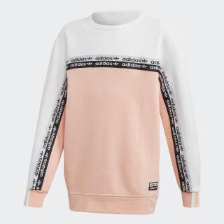 Sweatshirt Crew Glow Pink / White FM4387