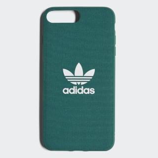 Coque emboîtable Adicolor iPhone 8+ Collegiate Green / White CJ6184