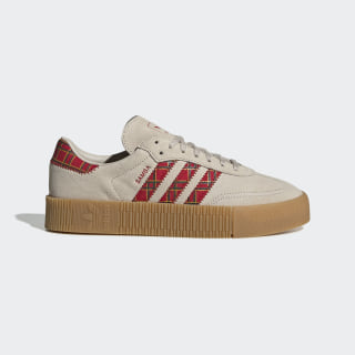 SAMBAROSE Shoes Clear Brown / Scarlet / Collegiate Green FU9746