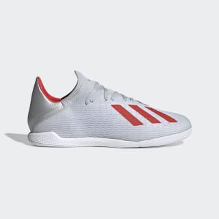 Calzado de Fútbol X 19.3 Bajo Techo Silver Metallic / Hi-Res Red / Cloud White F35370