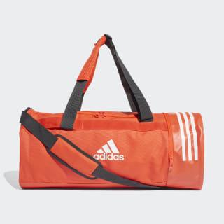 Bolsa de deporte mediana Convertible 3 bandas Active Orange / White / White DZ8694