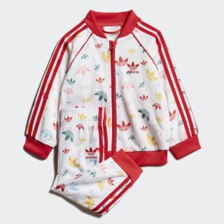 Спортивный костюм SST White / Multicolor / Lush Red FM6724