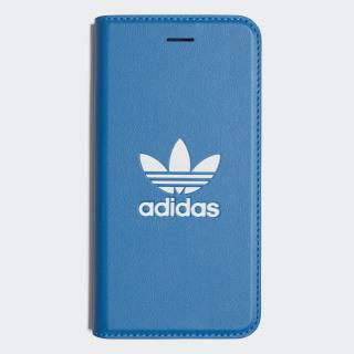Funda iPhone 8 Booklet Basic Logo Bluebird / White CK6164