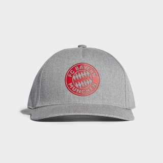 Boné FC Bayern MEDIUM GREY HEATHER/CARBON/RED DI0250