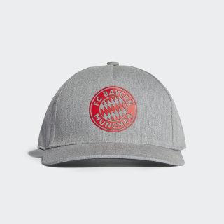 Gorra FC Bayern MEDIUM GREY HEATHER/CARBON/RED DI0250