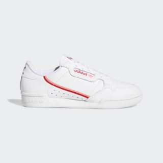 Tênis Continental 80 ftwr white/scarlet/flash red EE5562