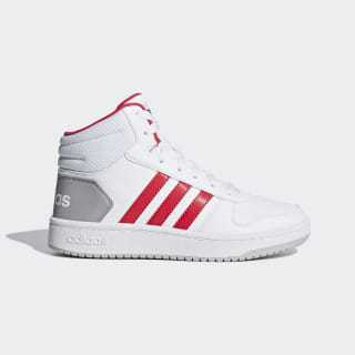 Hoops 2.0 Mid Shoes Cloud White / Active Pink / Core Black F35794