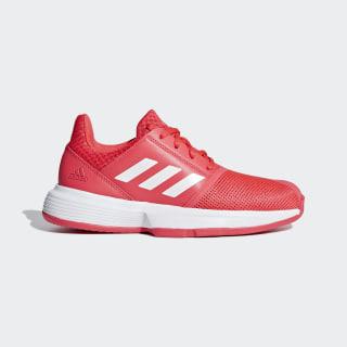 Zapatillas CourtJam xJ shock red / ftwr white / matte silver CG6154