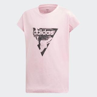 T-shirt Essentials Loose True Pink / Black DV0345