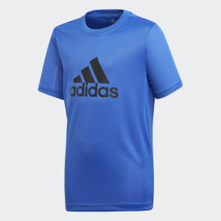 Polo Training Gear Up HI-RES BLUE S18/BLACK CF7082