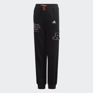 Collegiate Joggers Black / White FM4809