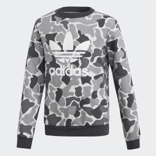 Camo Trefoil Crew sweatshirt Multicolor / Carbon DH2709