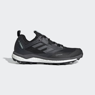Chaussure Terrex Agravic XT GORE-TEX Trail Running Core Black / Grey Five / Ash Green AC7664