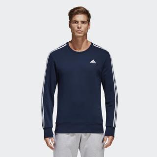 Essentials 3-Stripes Sweatshirt Collegiate Navy/White B45731