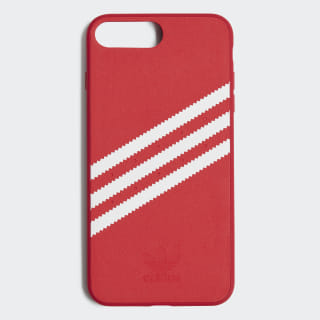 Coque moulée iPhone 8+ Suede Scarlet / White CJ1252