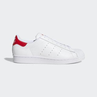 Superstan Shoes Cloud White / Cloud White / Scarlet FX3904