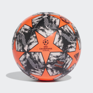 Balón UCL Finale 19 Manchester United Capitano App Solar Red / Black / Grey Three / Grey One DY2538