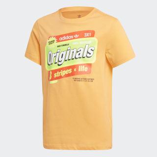 Camiseta Estampada Flash Orange / Solar Red / Solar Yellow / Solar Green ED7836