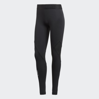 Tight lunghi Alphaskin Sport Black CF6554