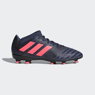 Nemeziz 17.3 Firm Ground Boots Trace Blue / Red Zest / Core Black DB2245