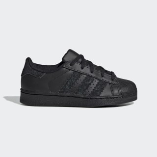 Tenis Superstar Core Black / Core Black / Core Black DB2872