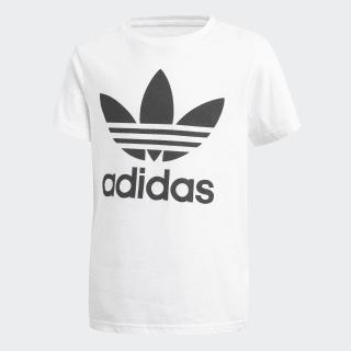 Camiseta Trefoil White/Black CF8546