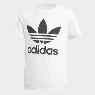 Camiseta Trifolio WHITE/BLACK CF8546