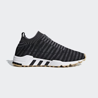 EQT Support Sock Primeknit Shoes Core Black / Carbon / Gum 3 B37536