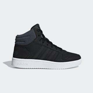Hoops 2.0 Mid Shoes Core Black / Core Black / Grey F35797