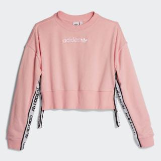 SWEATSHIRT (LONG SLEEVE) CREW SWEATER Light Pink DZ0092