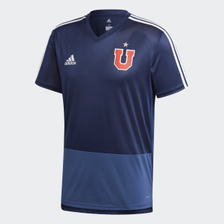 Camiseta de Entrenamiento Universidad de Chile Collegiate Navy / Night Marine / White CF5093