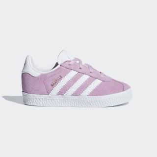 Gazelle Shoes Clear Lilac / Ftwr White / Ftwr White AQ1740