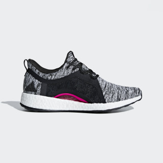 Pureboost X Shoes Core Black / Core Black / Shock Pink BB6544