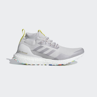 SHOES - LOW (NON FOOTBALL) ULTRA BOOST MID grey one f17 / grey three f17 / grey two f17 G26842