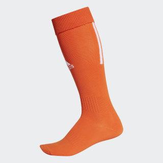Футбольные гетры Santos 18 orange / white CV8105