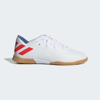 Футбольные бутсы (футзалки) Nemeziz Messi 19.3 IN ftwr white / solar red / football blue F99932