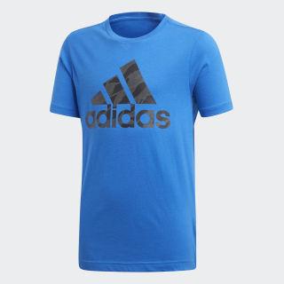 T-shirt Badge of Sport Blue DI0357