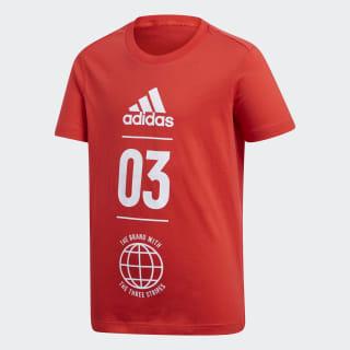 T Shirts Adidas Mens Performance Apparel Running T Shirt Red