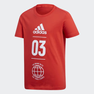 Sport ID Tee Active Red / White DV1705