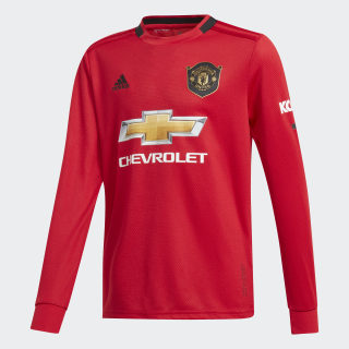 Manchester United Thuisshirt Real Red DX8955