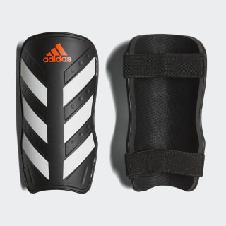 Everlite Shin Guards Black / White / Solar Red CW5559