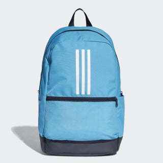 Mochila Classic 3-Stripes shock cyan / legend ink / white DT2627