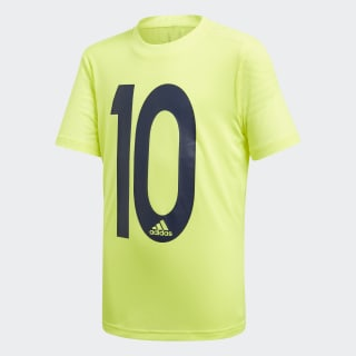 Футболка Messi Icon solar yellow DV1318