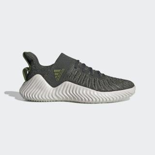Alphabounce Trainer Shoes Legend Earth / Tech Olive / Blue Tint DB3364