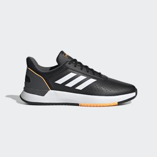 Zapatillas Courtsmash Core Black / Cloud White / Flash Orange EE8001