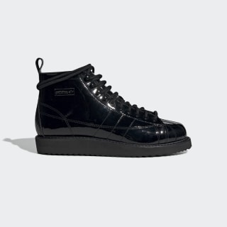 Botas Superstar Core Black / Core Black / Collegiate Purple CG6458