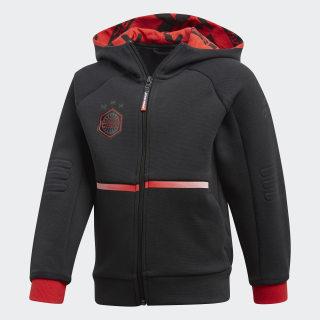 Chaqueta con capucha Star Wars Black / Vivid Red DI0202