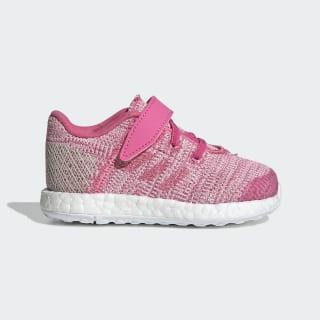 Chaussure Pureboost Go Semi Solar Pink / Semi Solar Pink / Clear Brown F34018